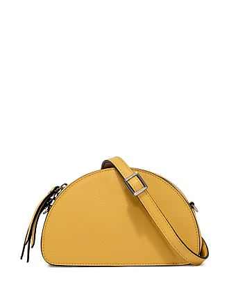 Gianni Chiarini baby bug small yellow cross body bag