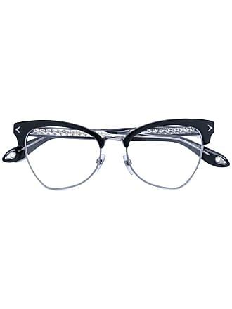 Givenchy Armação de óculos gatinho - Preto