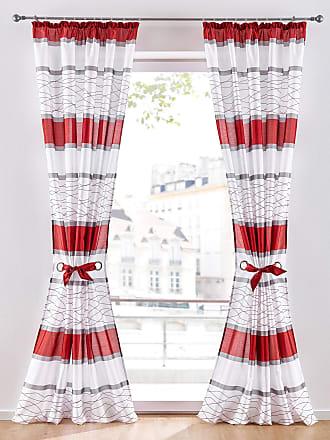 Bonprix Vorhang (1er Pack) rot, bonprix