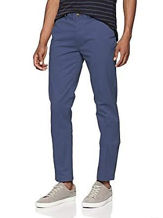 c860b6b4a0c52 Scotch   Soda Stuart-Classic Chino in Stretch Cotton Quality, Pantalon Homme,  Bleu