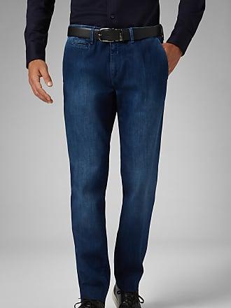 Boggi Milano slim fit medium wash stretch denim jeans