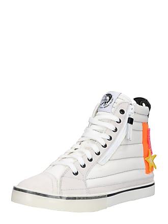 f19f46dc156 Diesel Sneakers hoog D-VELOWS D-VELOWS MID PATCH sinaasappel / wit