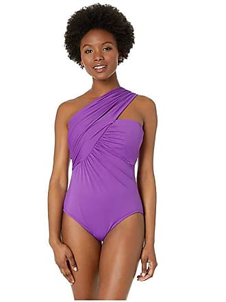 4715ab9fb34 Magic Suit By Miraclesuit Solid Goddess One-Piece (Amethyst) Womens  Swimsuits One Piece