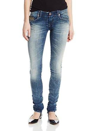 b15aa2a3 Diesel Womens Grupee-NE Super Skinny Leg Jogg Jean 606D, Indigo, 29x32