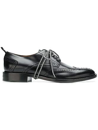 1e8704ff3f Givenchy Sapato derby de couro perfurado - Preto