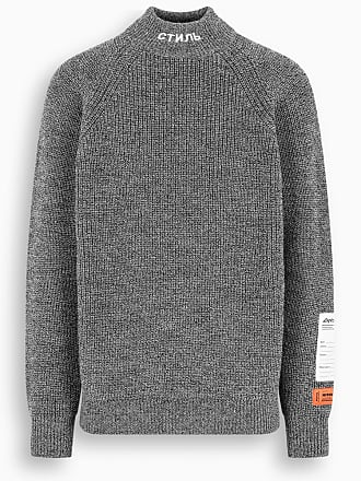 HPC Trading Co. CTNMB grey wool turtleneck jumper