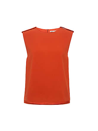 Finders Keepers No Diggity Sleeveless Blouse Burnt Orange