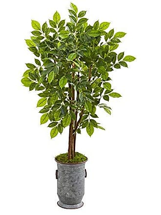 Nearly Natural 9532 55 River Birch Artificial Decorative Planter Silk Trees Green