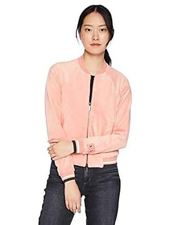 A|X Armani Exchange Womens Zip Up Velvet Jacket, CAIPIROSKA, S