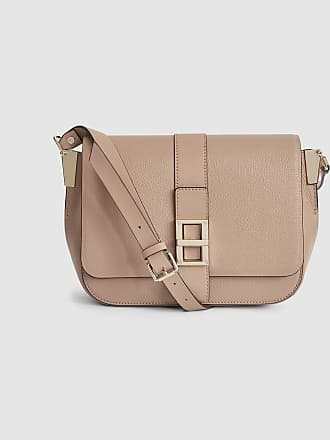 Reiss Ava - Leather Cross Body Bag in Neutral 2f8c2f7272dc8