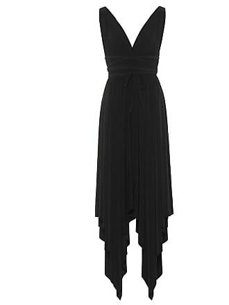 Norma Kamali Goddess jersey dress