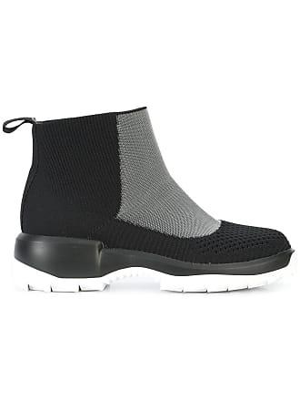 Camper Ankle boot bico arredondado - Preto