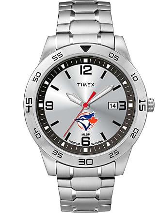 Timex Timex Watch Mens Citation Toronto Blue Jays Silver-Tone/silver-Tone/silver-Tone Item Twzbjaymlyz