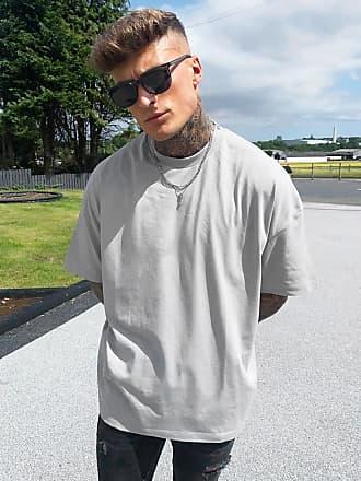 Asos Oversize-T-Shirt in Grau