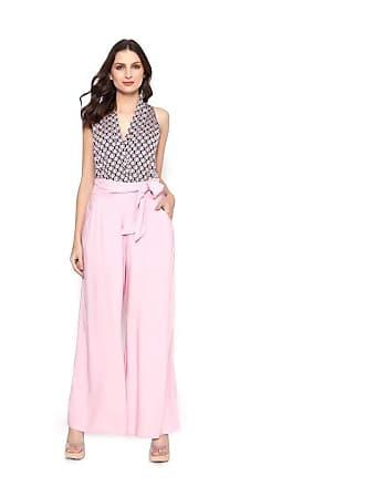 Lucy in the Sky Calca pantalona faixa rosa