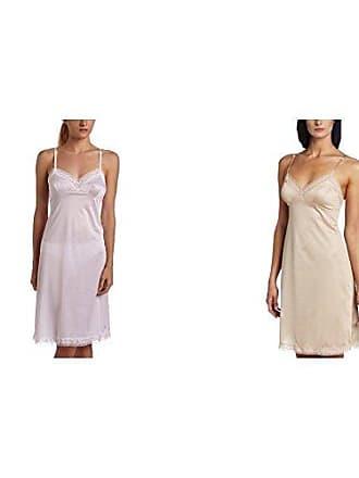 Vanity Fair Womens Rosette Lace Full Slip 10103, Star White/Damask Neutral, 42 Bust (26 Length)