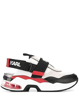 Karl Lagerfeld slingback runner sneakers - Black