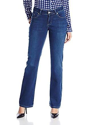 e644fdc3 Lee Lee Womens Modern Series Curvy Fit Naomi Bootcut Jean, Emery, 12 Short