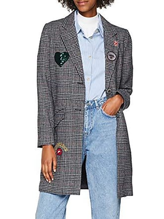 a106ff4d147fa2 Only Only Dames mantel onlbriannah emb. checked wool Coat otw - wit (cloud  dancer