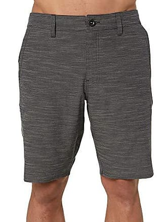O'Neill Mens Locked SLUB, Asphalt, 38