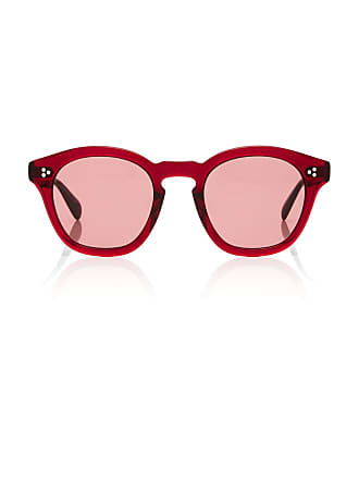 8dd196a9ce Oliver Peoples Boudreau L.A. Square-Frame Acetate Sunglasses