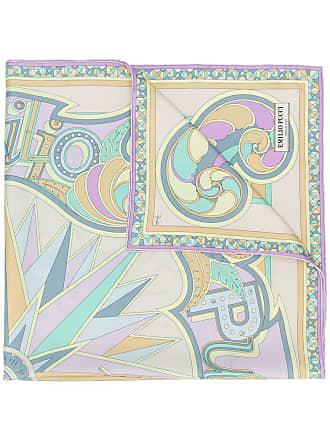Emilio Pucci abstract print scarf - Neutrals