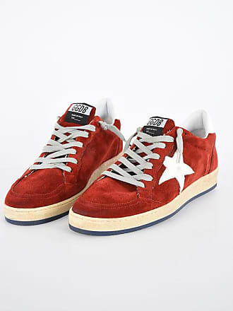 Golden Goose Suede Leather Printed BALLSTAR Sneakers size 42
