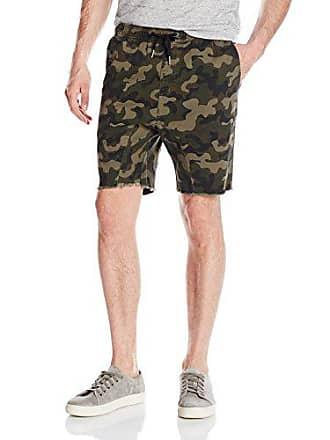 Zanerobe Mens Sureshot Cotton Stretch Everyday Shorts, Dk Camo, 29 Inches