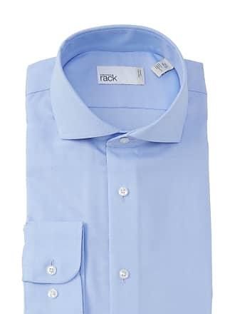 Nordstrom Rack Woven Herringbone Trim Fit Dress Shirt