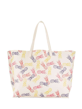 Neiman Marcus Pineapple Printed Tote Bag