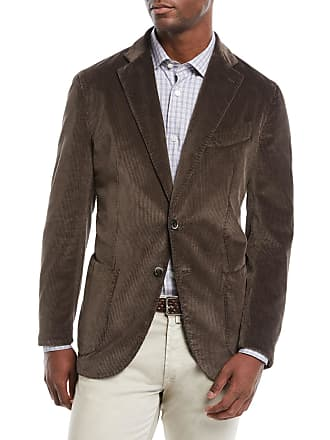 Neiman Marcus Mens Corduroy 3-Button Jacket