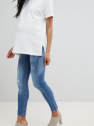 GeBe GeBe Maternity over-the-bump skinny jeans - Blue