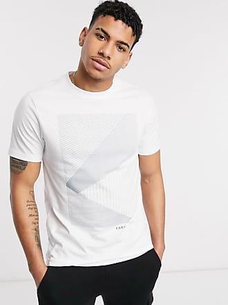 Farah Langland - Bedrucktes T-Shirt-Weiß