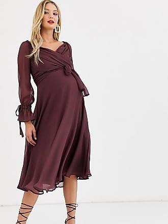 Esprit Maternity Blouse LS YD Check Blusa Premaman Donna