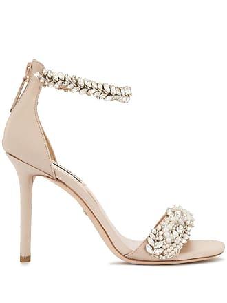 751309ddb21 Badgley Mischka Fiorenza embellished sandals - Pink