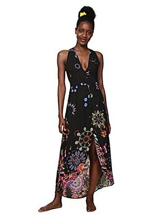 8b63efe50634 Desigual Dress Swimwear Magda Woman Black Vestito, Nero (Negro 2000), XL  Donna