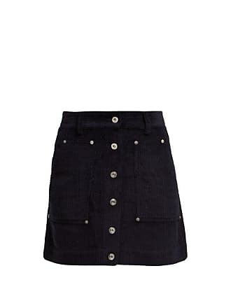 14cebb07c Proenza Schouler Proenza Schouler Pswl - Corduroy Mini Skirt - Womens - Navy