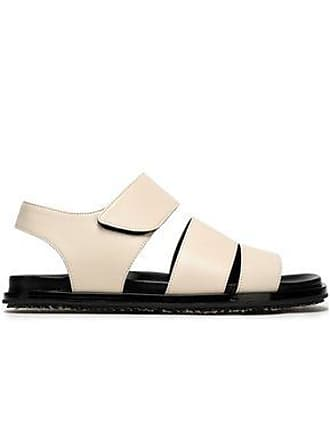 13fcf61f6551 Marni Marni Woman Leather Sandals Off-white Size 39