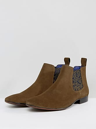 09ce7bb98 Silver Street London Chelsea Boots Suede In Tan Suede