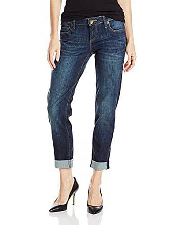 Kut from the Kloth Womens Catherine Boyfriend Jean, Royal (Deep), 0
