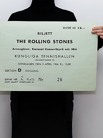 Efva Attling Ticket - The Rolling Stones Poster