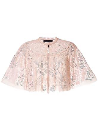 Needle & Thread sequin embroidered bolero - Pink