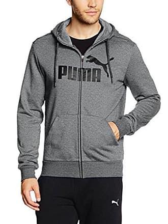 d94eb15cb22 Puma heren ESS No. 1 FZ hoody FL pullovers, grijs, l