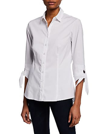 12cef6dafb6 Finley Jackie Tie-Sleeve Button-Front Shirt