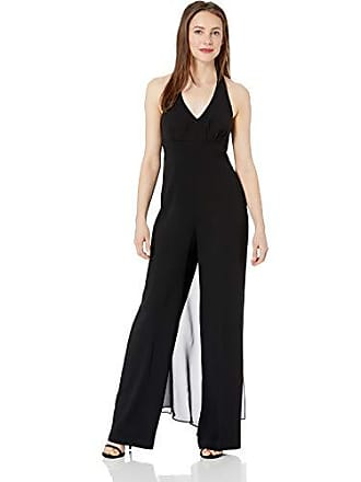 1dfea1e5068 Trina Turk Womens Rossini Halter Jumpsuit with Chiffon
