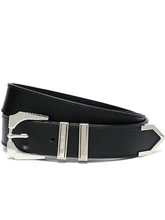 Versus Versus Versace Woman Leather Belt Black Size 65