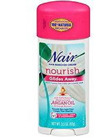 Nair Glides Away Hair Remover for Bikini, Arms & Underarms with Argan Oil