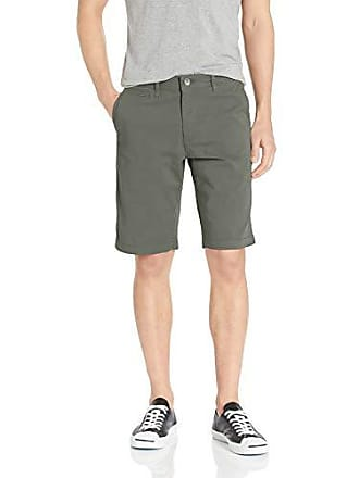 William Rast Mens Ken Fashion Chino Short, Duck Green, 40