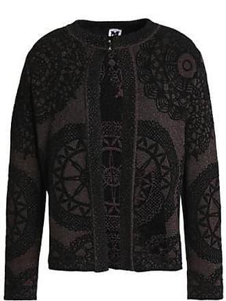 b92b19980c6 M Missoni M Missoni Woman Metallic Jacquard-knit Jacket Burgundy Size 40