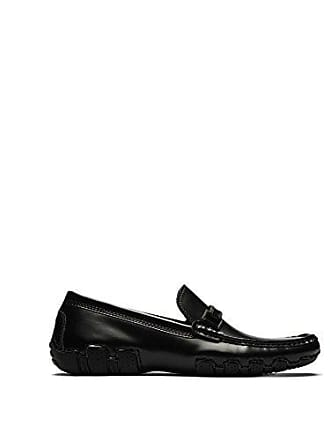 Kenneth Cole Reaction Mens Design 20474 Driving Style Loafer, Black, 8 M US